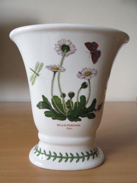 Portmeirion Botanic Garden 7 Versailles Vase Daisy Excellent Con Ebay
